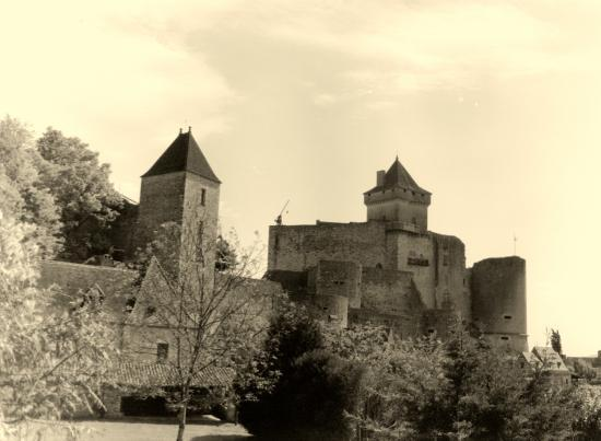 Castelnaud-la-Chapelle, le château.