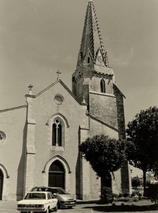 Sainte-Marie-de-Ré, l'église.