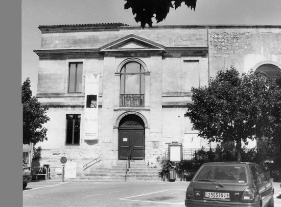Libourne, la médiathèque Condorcet.