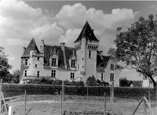 Les Milandes, le château.
