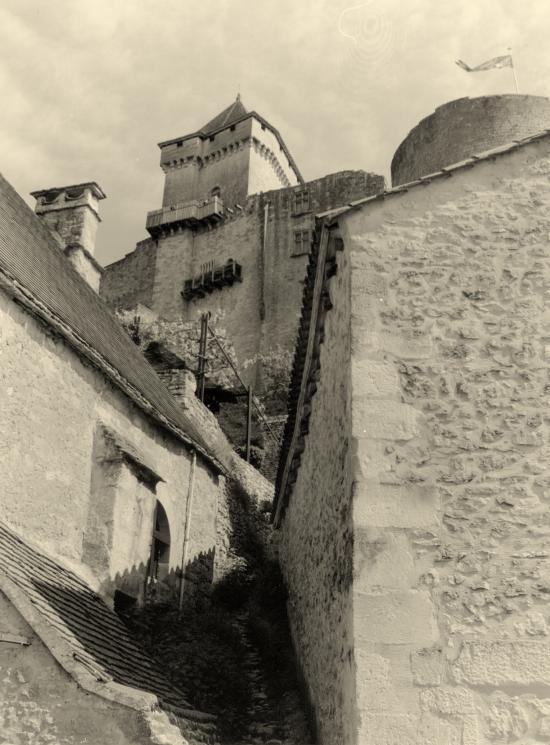 Castelnaud-la-Chapelle, le château,