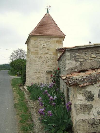 Naujan et postiac, au château d'Arpaillan,