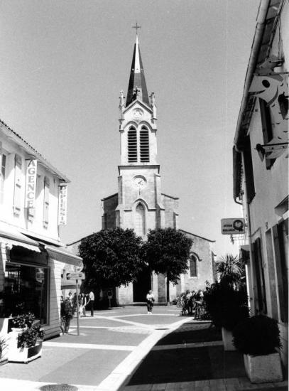 La Couarde, l'église.