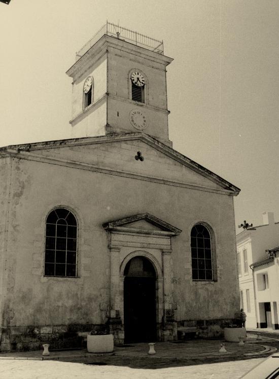 Le Bois-Plage-en-Ré, l'église.