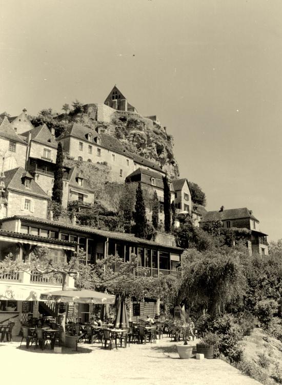 Beynac, le château féodal du 13ème siècle.