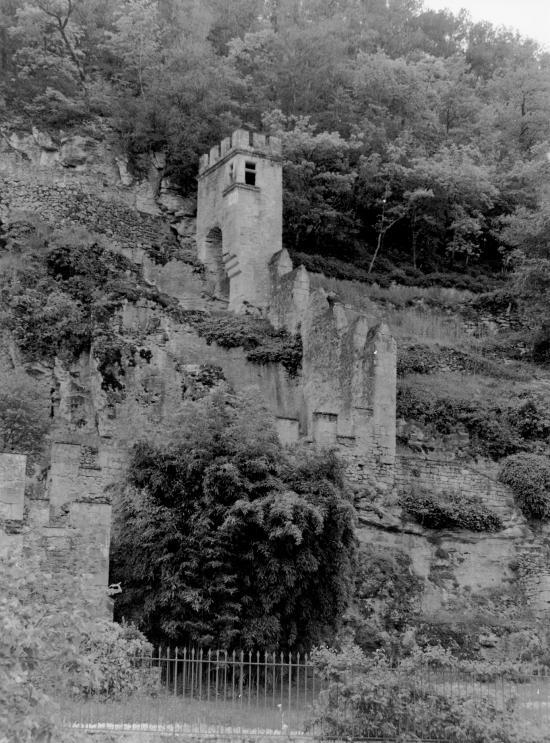 Carsac, les vestiges du château.