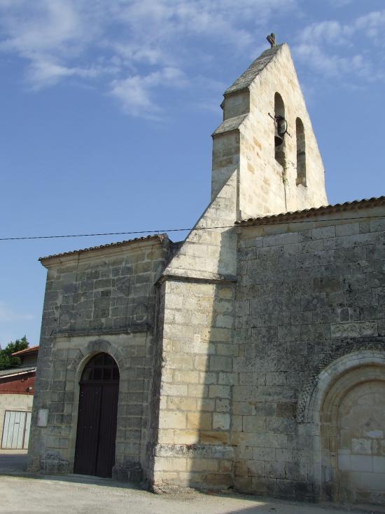 Camiac et Saint-Denis, l'église Saint-Martin