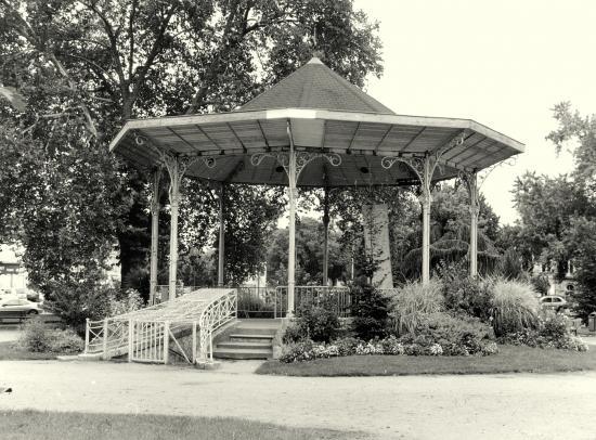 Libourne, le kiosque à musique