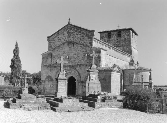 Saint-Martin-de-Laye, l'église Saint-Martin.