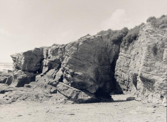 Piriac, la côte rocheuse.