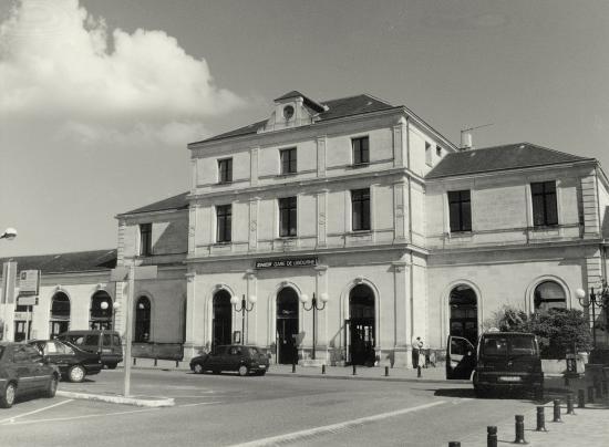 Libourne, la gare SNCF
