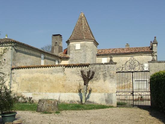 Grézillac, le château Chaumel.