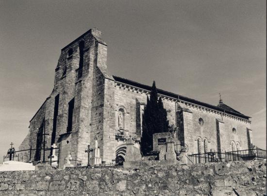 La Sauve, l'église Saint-Pierre.