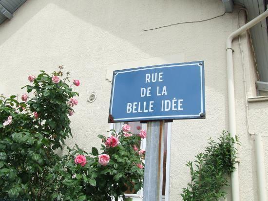 Migennes, rue de la belle idée, tout un poême...