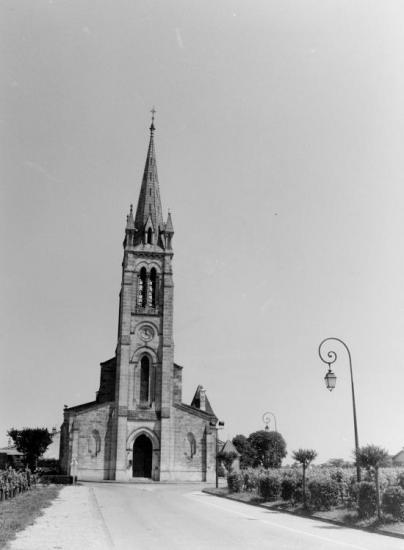 Pomerol, l'église Saint-Jean.