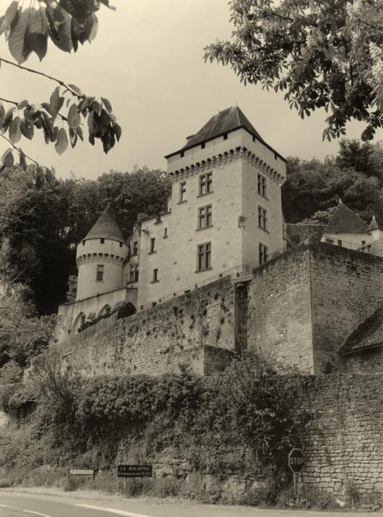 La Roque-Gageac, le château de Malartrie.
