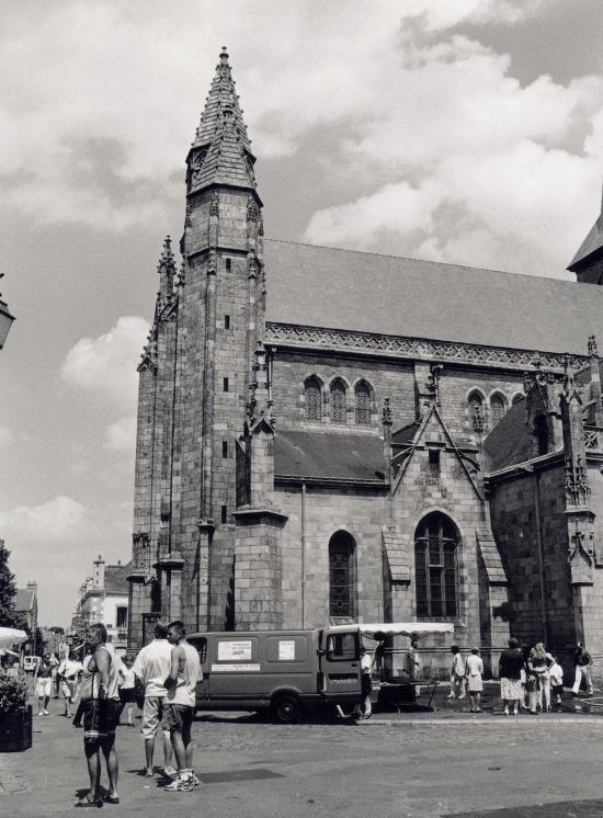 Guérande, l'Abbatiale.