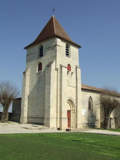 Grézillac, l'église Notre-Dame