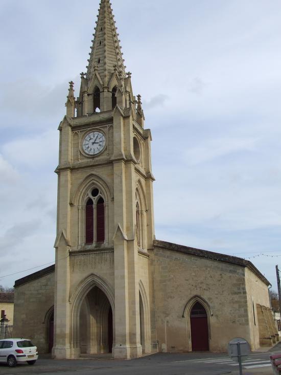 Moulon, l'église Saint-Vincent.