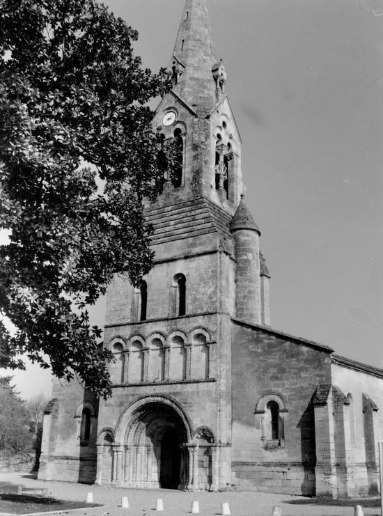 Izon, l'église Saint-Martin