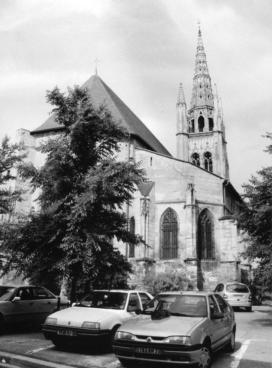 Libourne, l'église Saint-Jean-Baptiste.