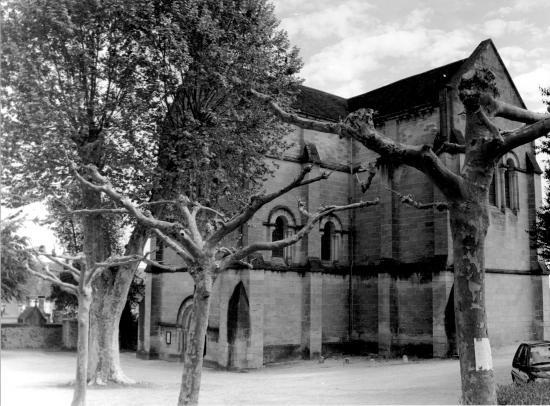Cénac, l'église romane Saint-Julien,