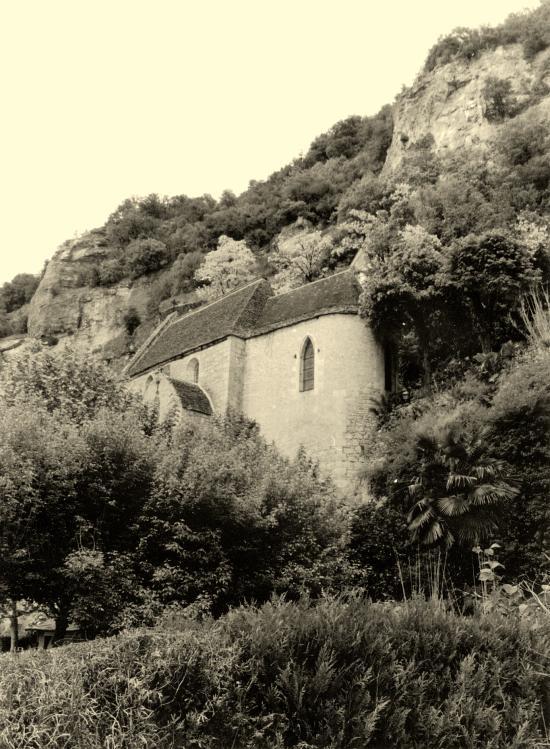 La Roque-Gageac, l'église.