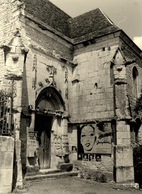 Les Milandes, la chapelle du château de Joséphine.