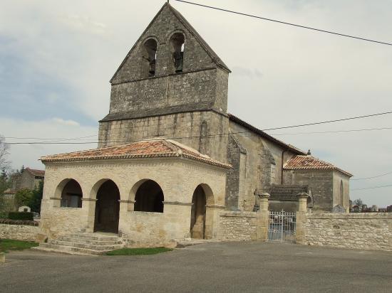 Jugazan, l'église Saint-Martin.