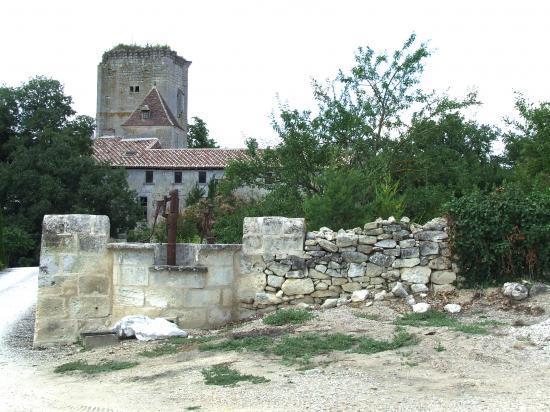 Daignac, le château Curton