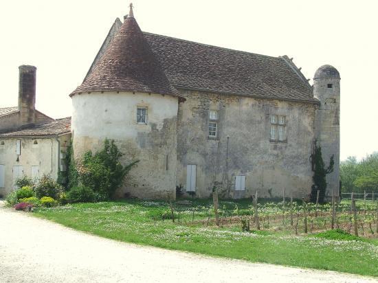 Guillac, le château de Rebullide.
