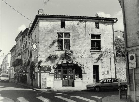 Libourne, une boutique du XVIème siècle: le Bacchus