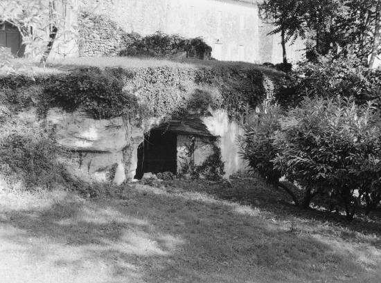 Saint-Christophe-des-Bardes, voûtes au château la Pelleterie.