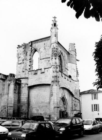 Saint-Martin-de-Ré, l'église Saint-Martin.