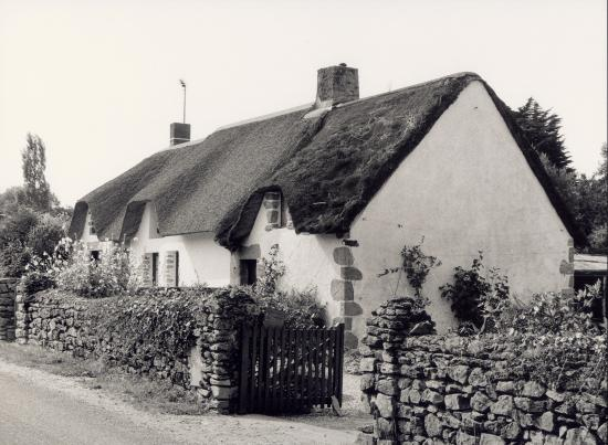 La Brière, une maison bretonne.