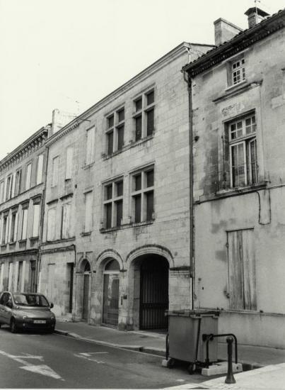 Libourne, une ancienne boutique du XVIème siècle.