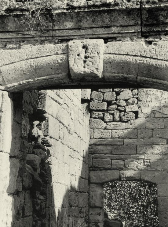 Arveyres, la Commanderie des Templiers: l'écusson