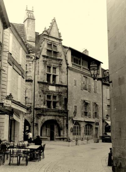 Sarlat, la maison de la Boëtie, 16ème siècle.