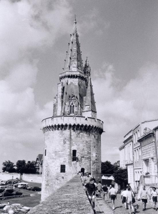 La Rochelle, la Tour de la Lanterne.