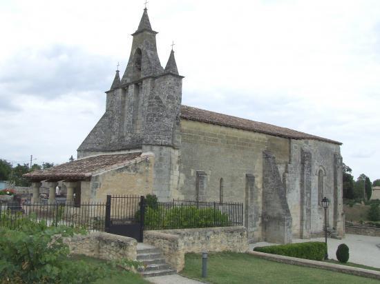 Tizac-de-Curton, l'église Notre-Dame,