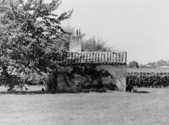 Saint-Sulpice-de-Faleyrens, une maison de vigne.