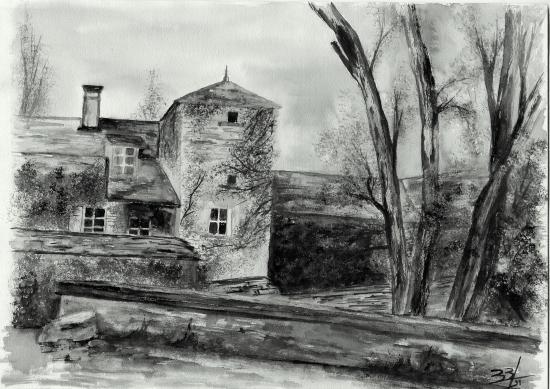 Noyers-sur-Seurin, paysage,