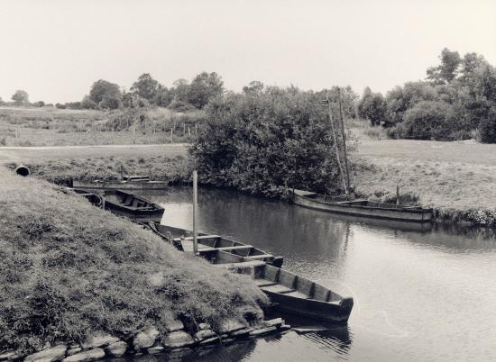 Rosé en Brière, d'autres barques.