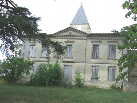 Dardenac, le château Grossombre.