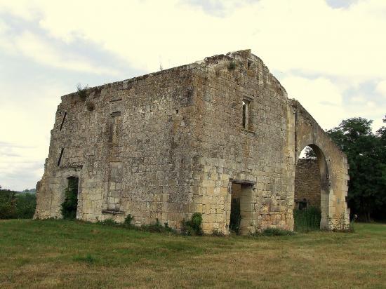 la Maison forte, vue à l'ouest